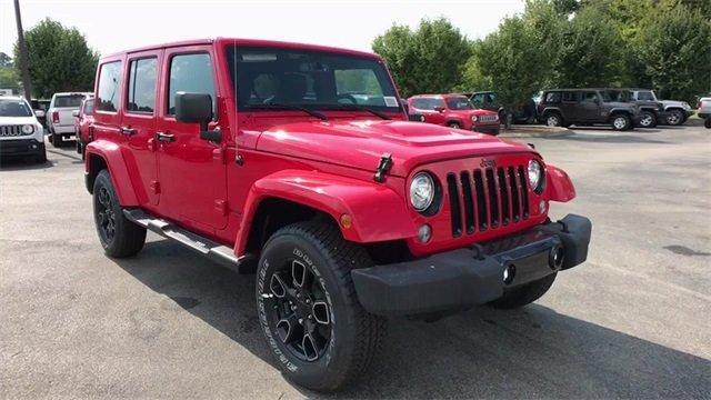 New 2018 Jeep Wrangler Unlimited Alude