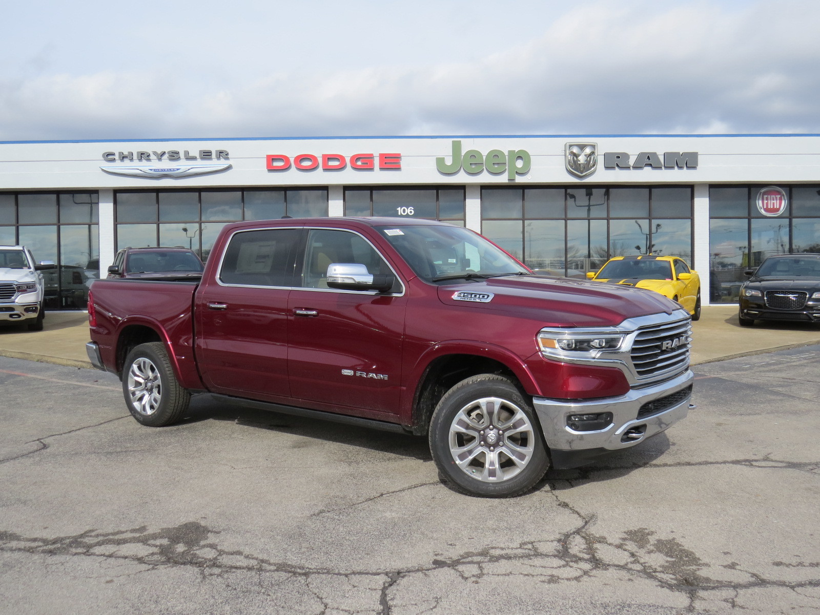 New 2019 RAM All-New 1500 Laramie Longhorn 4D Crew Cab for Sale
