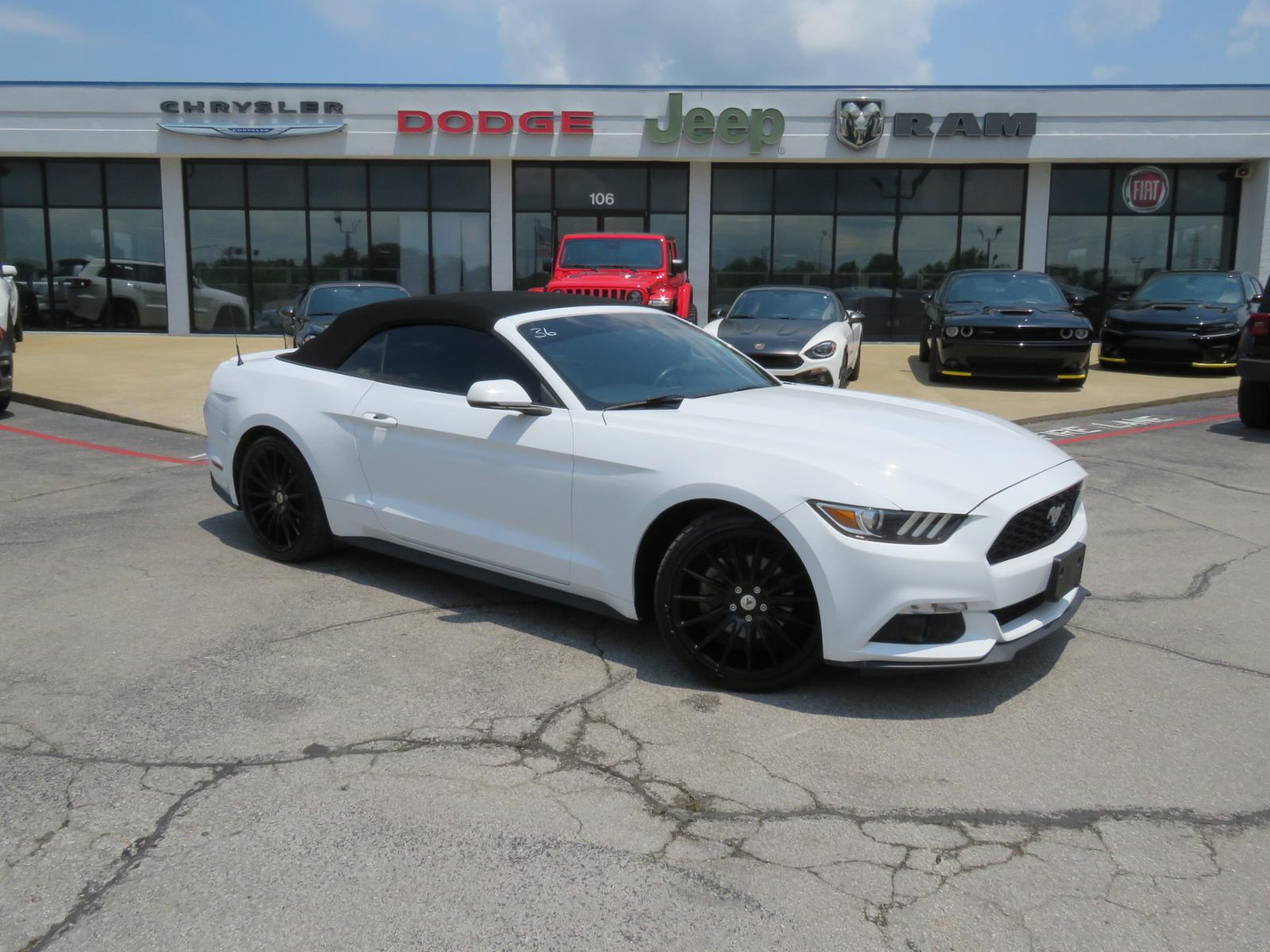 Pre Owned 2016 Ford Mustang Ecoboost Premium